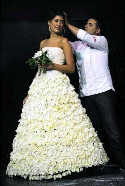 Robes de mariées en sucre