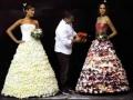 Des robes de mariée en sucre !