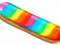 Un éclair arc-en-ciel chez Fauchon pour la Gay Pride