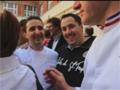 Trois Meilleurs Ouvriers de France (MOF) en pâtisserie-chocolaterie