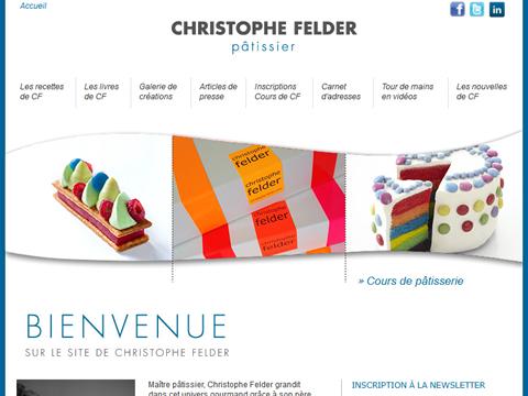 Le site de Christophe Felder