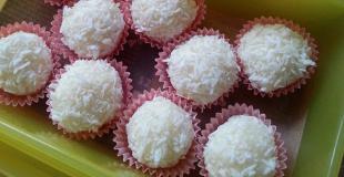 Boulettes de coco