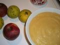 Compote de coings et pommes