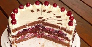Forêt Noire, le gâteau venu d'Allemagne