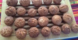 Rochers à la noix de coco ultra faciles à réaliser